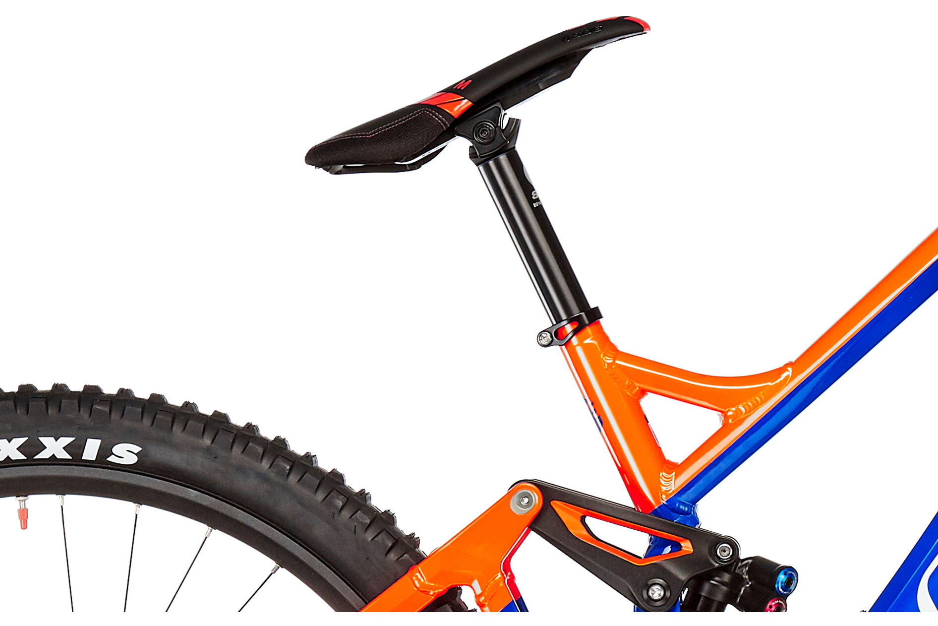 bfca09638a4 Mondraker Summum Pro MTB Full Suspension orange blue at Bikester.co.uk
